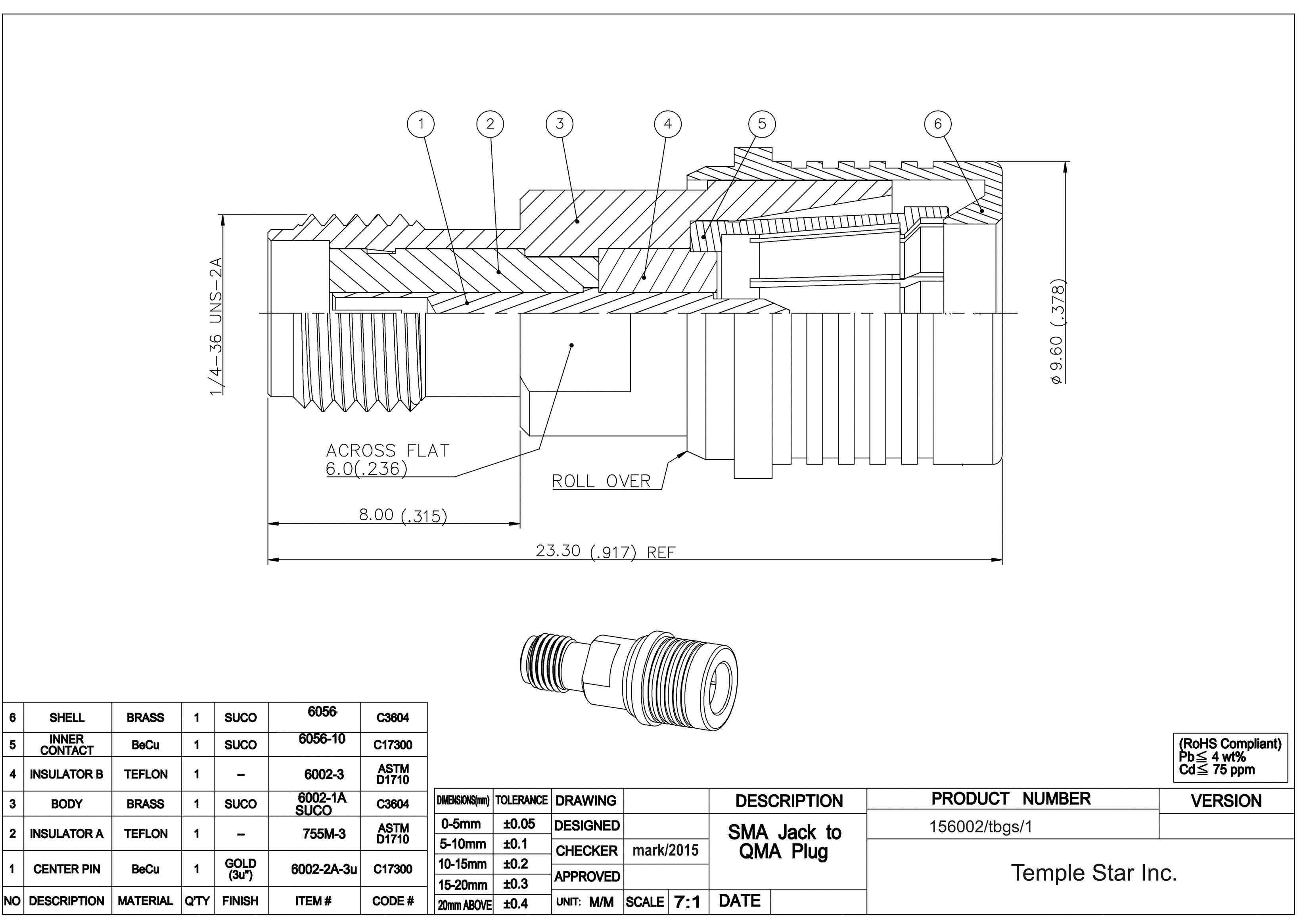 High Quality Sma Conectors Kabels Meet Mil C 39012 Spec Wiring Diagram Qma Snap On Connector Series